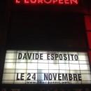 Davide Esposito à l'Européen: un concert intime et émouvant